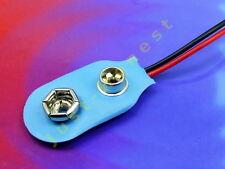 Batería clip 9v soporte/Battery holder Aku Battery zócalo/socket #a326