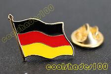 Germany German National Flag Waving Metal Lapel Pin Badge