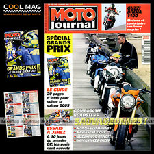 MOTO JOURNAL N°1658 HONDA CB 600 F HORNET KAWASAKI Z 750 SUZUKI 650 BANDIT 2005