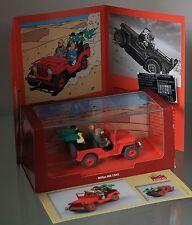 ATLAS-Tim und Struppi-TINTIN CAR-Jeep Willys MB 1943-AU PAYS DE L´OR NOIR-Modell