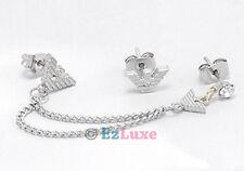 K-POP Korean Japan boa Jo Kwon 2am Eagle Two-pin Asymmetric Earrings chain link