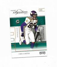 2002 Playoff Prime Signatures  Silver #10 Sample Card  Chris Carter