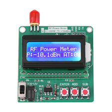 Digital LCD RF Power Meter 1-600MHz -75-16dBm Radio Frequency Attenuation Value