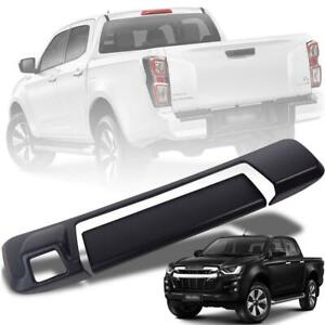 Tailgate Handle Cover Camera Hole Black For Isuzu D-max Dmax Pickup 2020-2021
