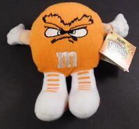M&M's Minis SWARMEES Orville Orange Plush Hands Loop on Back for Fingers