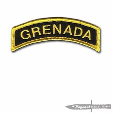 CVMA Colors -  Operation Urgent Fury - Grenada Embroidered Tab - Combat Veteran