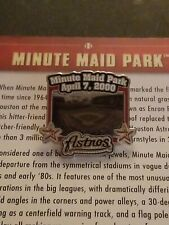 WILLABEE & WARD 2008 MINUTE MAID PARK HOUSTON ASTROS PIN WITH CARD