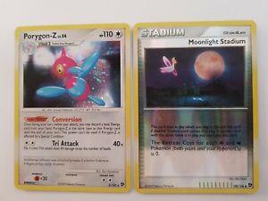 Porygon Z & Moonlight Stadium EX Great Encounters Pokemon Cards TCG