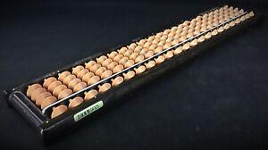 Ancienne vintage calculatrice Abacus Japon - En bois et plastique