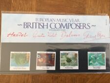 GB Presentation Pack 161 British Composers 1985