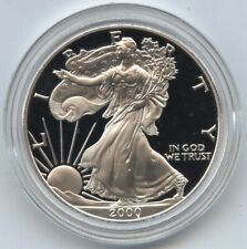 2000 American Eagle 1 oz Proof Silver Dollar One Ounce Bullion OGP US Mint