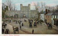 Battle Abbey Gateway Horse & Carriage pc used 1904  Peacock