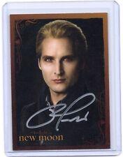 NECA Twilight New Moon Peter Facinelli Carlisle Cullen autograph auto card #2