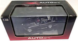 Auto Art Dodge Viper Competition Coupe, Black, 1:43 Scale Diecast Model 60421