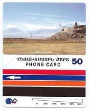 ARMENIA 2nd ARMENIE 50u 1994 VIEW ARARAT VALLEY  MINT URMET Neuve