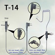Earphone Headset for Motorola EP350 EP450 PR400 GP88 GP68 GP2000 Portable radio