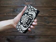 Genuine Leather Key Case Key Holder Key Organizer Key Box Key Cover Black White