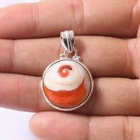 Shiva Eye Gemstone Indian Handmade Jewelry 925 Solid Sterling Silver Pendant