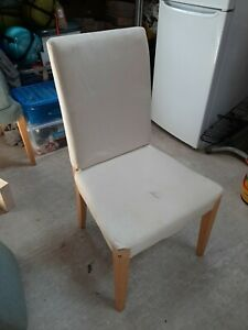 Ikea henriksdal chairs X4