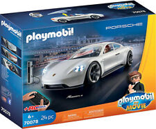 Playmobil The Movie: Rex Dasher's Porsche Mission E 70078 (for Kids 6 and up)