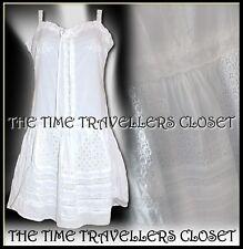 Kate Moss Topshop White Lace Embroidery Anglaise Mini Sun Beach Dress UK 8 10 12