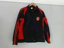 Manchester Unit tracksuit top zip front Size Ch small