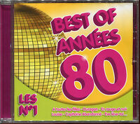 BEST OF ANNEES 80 - LES 20 N°1 - CD COMPILATION NEUF ET SOUS CELLO