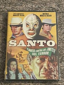 Santo Contra Los Jinetes Del Terror (DVD, Spanish) BRAND NEW / SEALED *RARE OOP*
