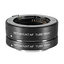 Neewer Extension Tub Set for Micro Four Thirds Mirrorless Cameras,fit Panasonic