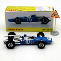 Atlas Dinky Toys 1417 MATRA F1 DUNLOP Alloy car #17 1/43 Diecast Models