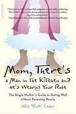BOOK PB Ellie Slott Fisher MOM, THERE'S A MAN IN THE KITCHEN AND HE'S WEARING