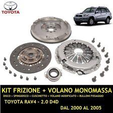 KIT FRIZIONE E + VOLANO MODIFICATO MONOMASSA / TOYOTA RAV4 RAV 4  2.0 D4 85KW