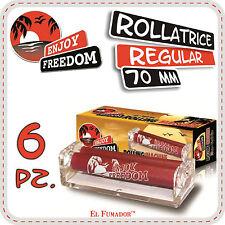 ENJOY FREEDOM ROLLATORE 6 Pz - MACCHINETTA ROLLATRICE CARTINE CORTE REGULAR 70mm