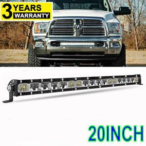 """For 2003-2018 Dodge Ram 2500/3500 Lower Bumper 20"""" LED Light Bar Combo Kit 22''"""