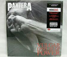 "NEW & Sealed Pantera ""Vulgar Display Of Power"" 180gm Vinyl Double-LP Record Free"