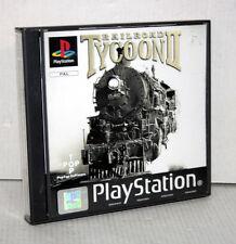 RAILROAD TYCOON II GIOCO USATO SONY PSONE VERSIONE INGLESE FR1 52268