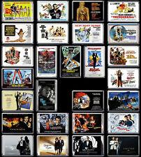 Classic JAMES BOND 007 Film / Movie Poster (1962 - 2020) Fridge Magnets