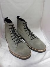 ASOS Lace Up Monkey Boots Grey Suede UK 6 EU 39 LN05 86