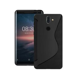 Case For Nokia 8 Sirocco S-Line Silicone Gel Skin Tough Shockproof Phone Cover