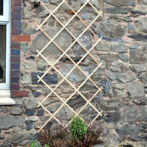 3ft Wooden Garden Trellis Climber Frame Expandable To 6Ft Long 1.8m x 0.9m