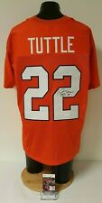 Perry Tuttle Signed Football Jersey Autographed Clemson Tigers JSA EE24294