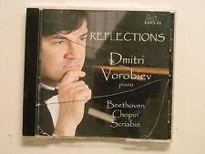Dmitri Vorobiev REFLECTIONS Beethoven Chopin Scriabin CD 2009 Blue Griffin