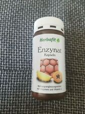 Herbafit Enzynat-Kapseln Nahrungsergänzungsmittel mit Enzymen und Vitamin C
