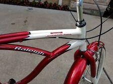Red Cruiser: Raleigh Retroglide 7 Speed Bicycle