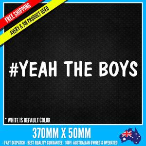 # YEAH THE BOYS sticker decals Large Bike Mortobike 4x4 Turbo JDM Stickers