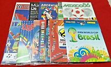OFFICIAL LICENSED PANINI Albums Reprint World Cup 70 to 2014 Complete No Sticker