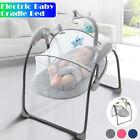 Electric Rocker Baby Swing Infant Portable 3-speeds Swing Cradle Sleeping Cradle