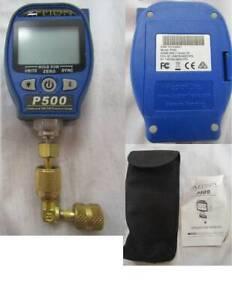 APPION P500 COMPOUND 29inHg TO 500PSI PRESSURE GAUGE