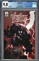Venom 9  CGC 9.8 1st FULL Appearance of Dylan Brock * Tan TRADE Cover MAJOR KEY