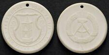 Hartha, 750 Jahre 1973, Meissen Porzellan weiß prägefrisch, Weigelt 5,263.2